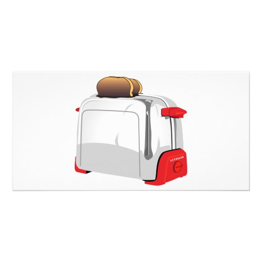 Retro Toaster Card