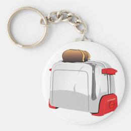 Retro Toaster Keychain