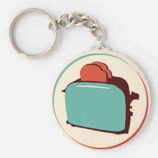 Retro Toaster Keychain/Charm Keychain