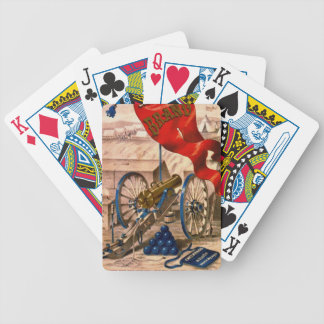 Retro Tobacco Label 1857 Bicycle Playing Cards