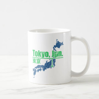 Retro Tokyo Coffee Mugs