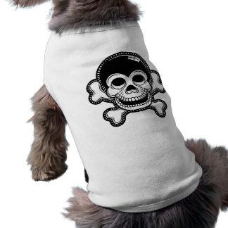 Retro Toon Monkey Pirate Skull Tee
