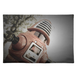Retro Toy Robby Robot 02 American MoJo Placemats