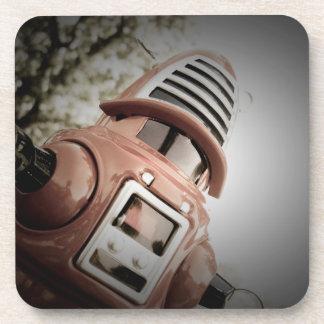 Retro Toy Robby Robot 02 Cork Coaster