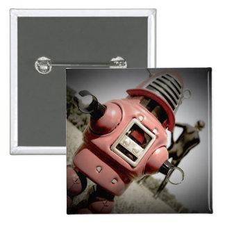 Retro Toy Robby Robot 04 Button