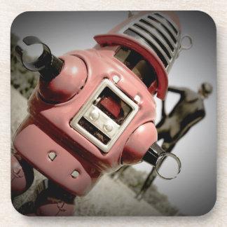 Retro Toy Robby Robot 04 Cork Coaster
