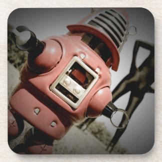 Retro Toy Robby Robot 05 Cork Coaster