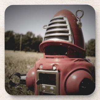 Retro Toy Robby Robot 06 Cork Coaster