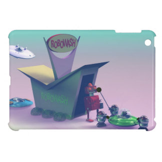 Retro Toy Robo Wash iPad Mini Covers