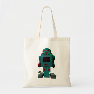 Retro Toy Robot Bag