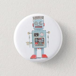 Retro Toy Robot Button