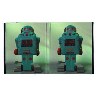 Retro Toy Robot Caseable Case iPad Folio Covers