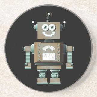 Retro Toy Robot Coaster (dk)