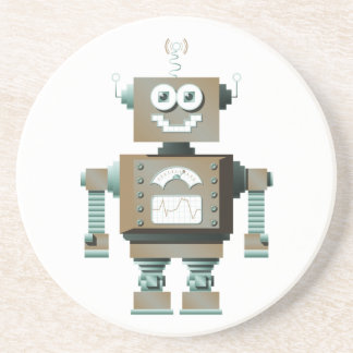 Retro Toy Robot Coaster (lt)