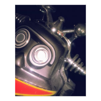 Retro Toy Robot Letterhead