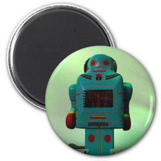 Retro Toy Robot Magnet
