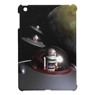 Retro Toy Robot Number 7 iPad Mini Covers