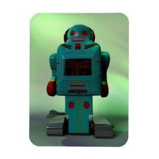 Retro Toy Robot Premium Flexi Magnet