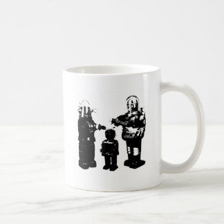 Retro Toy Robots Coffee Mug