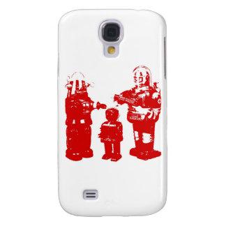 Retro Toy Robots Galaxy S4 Case