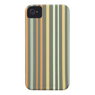 Retro Track stripes iPhone 4 Case-Mate Case