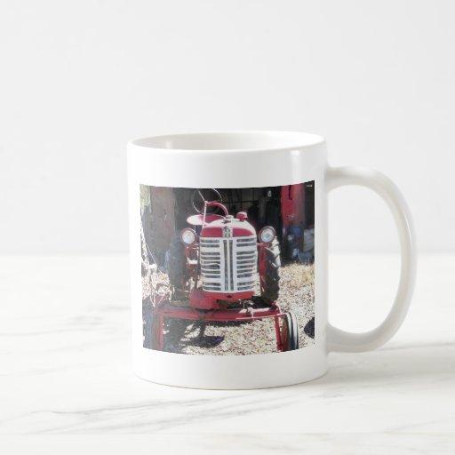 Retro Tractor Coffee Mug