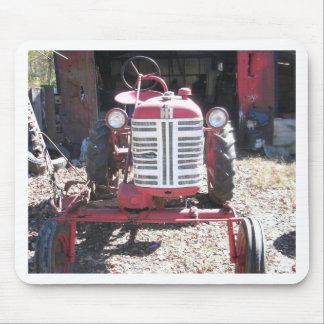 Retro Tractor Mouse Pad