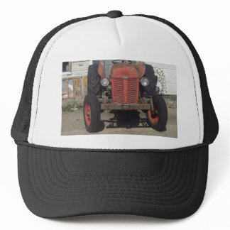 Retro Tractor Trucker Hat