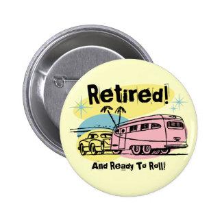 Retro Trailer Retired Button