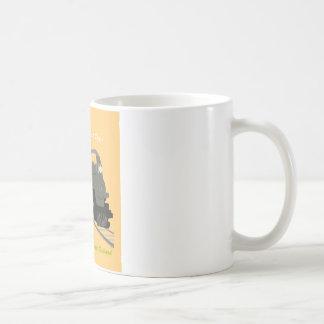 Retro Train Travel Coffee Mug