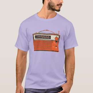 retro transistor radio T-Shirt