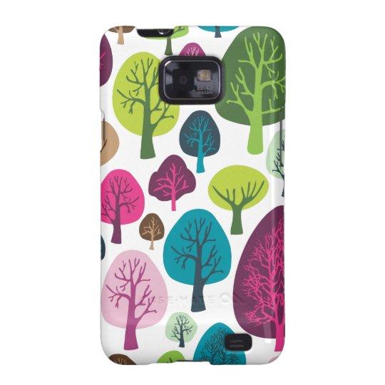 Retro tree nature pattern design samsung case