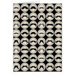 Retro Trendy Handlebar Mustache Card