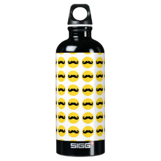 Retro Trendy Handlebar Mustache SIGG Traveler 0.6L Water Bottle