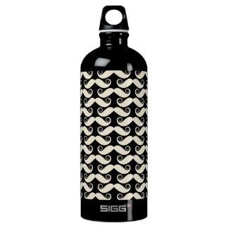 Retro Trendy Handlebar Mustache SIGG Traveler 1.0L Water Bottle