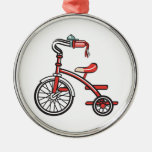 retro tricycle christmas tree ornaments