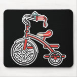 retro tricycle mouse pads