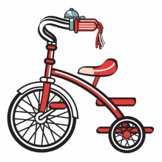 retro tricycle acrylic cut out