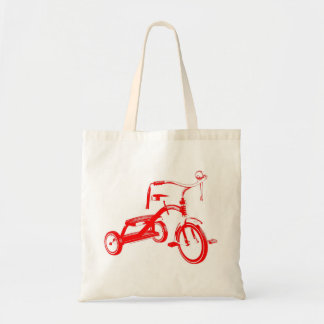 Retro Tricycle Tote Bag