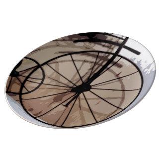 Retro Trike Porcelain Plate