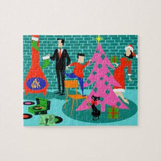 Retro Trimming the Christmas Tree Puzzle