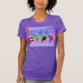 Retro Tropical Cocktail Party T-Shirt