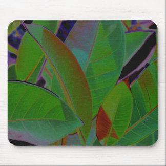 Retro Tropical Fabric Mouse Pad