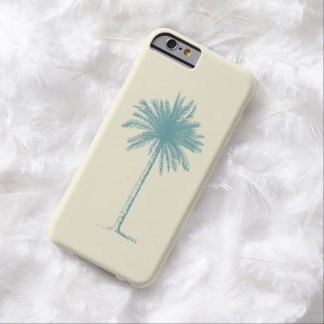 Retro Tropical Palm Tree Beaches & Warm Weather Barely There iPhone 6 Case