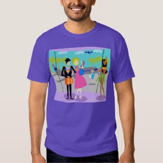 Retro Tropical Vacation T-Shirt