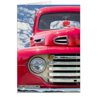 Retro Truck Card