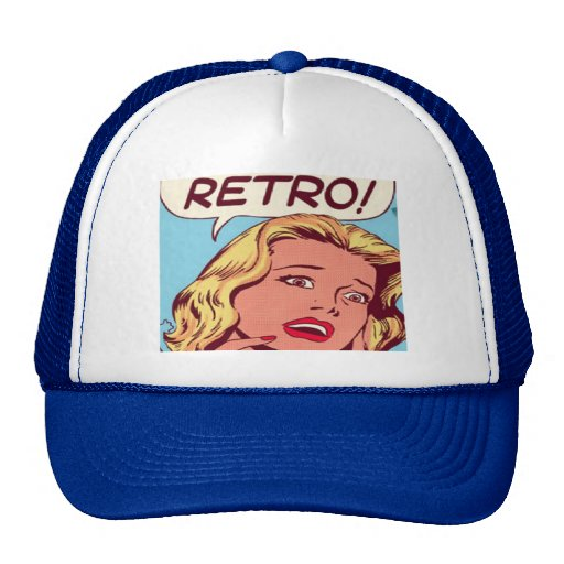 retro trucker hats