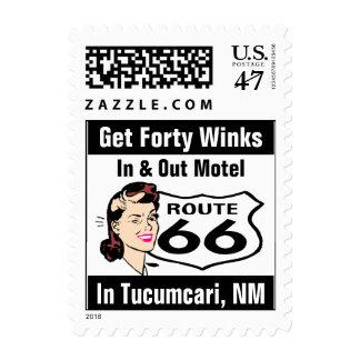 Retro Tucumcari NM Promote Wink Route 66 Vintage Postage