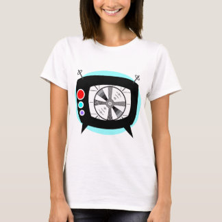 Retro TV and Test Pattern T-Shirt