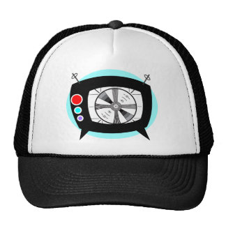 Retro TV and Test Pattern Trucker Hat